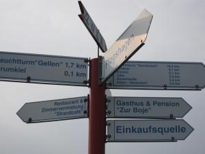 Wegweiser Neuendorf