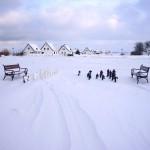 Neuendorf im Winter