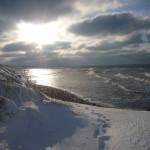 Neuendorf Strand im Winter