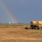 Regenbogen Boddenblick