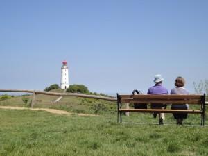 Leuchtturm auf dem Dornbusch in Kloster